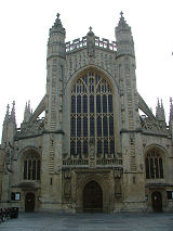The West Front, Bath Abbey